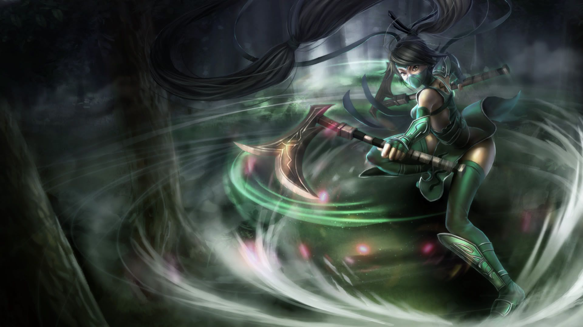 League Of Legends Akali Hd Wallpapers Free Download League Of