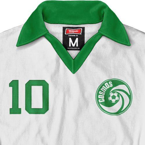 6b2e38f6d Cosmos Pele Throwback New York Cosmos, Football Shirts, Football Jerseys,  Soccer Jerseys