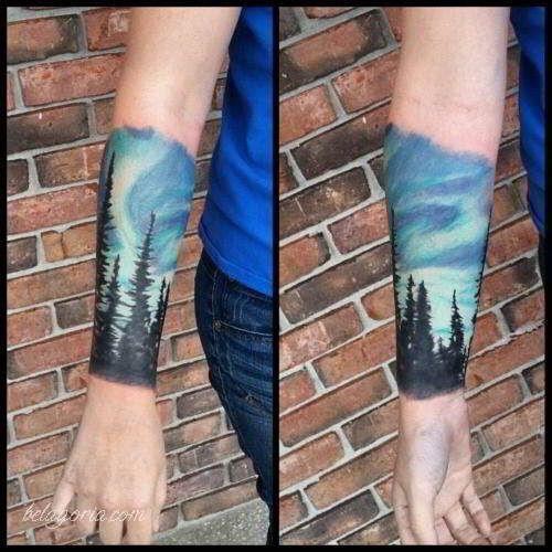 10 Tatuajes de bosques significado