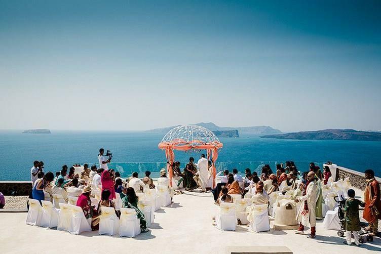 An Indian Wedding in Santorini Greece | Wedding in 2019