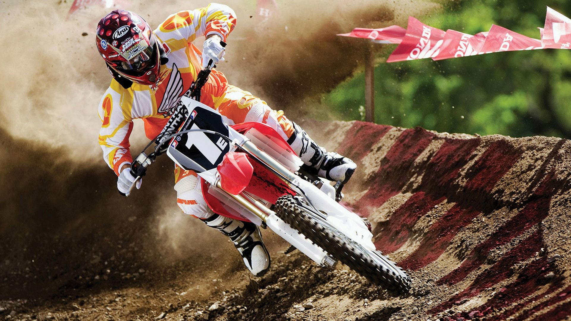 Off Road Moto Racing 1080p HD Sports Wallpaper Projects