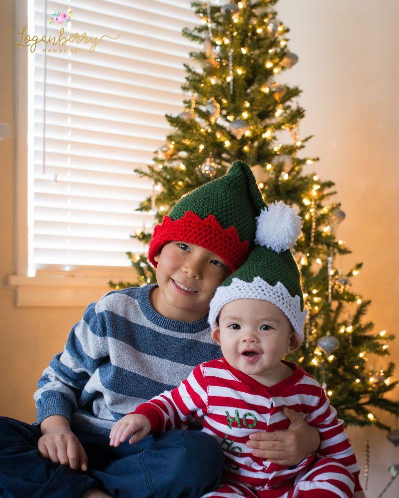 crochet elf hat, free crochet pattern, crochet elf hat pattern ...