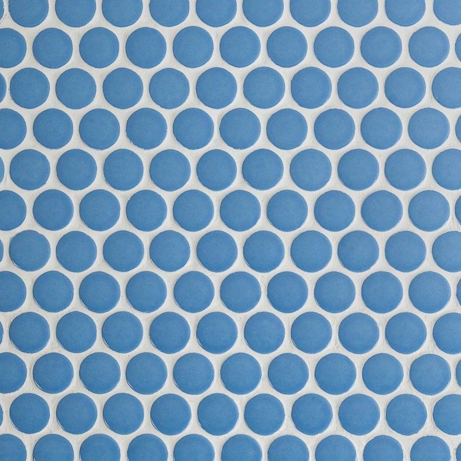 Paradise Blue Steel 1 Circles Ceramic Tile Tilebar Com Ceramic Tiles Ceramic Floor Ceramic Mosaic Tile