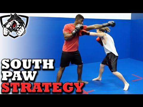 Southpaw Fighting Strategies For Boxing Muay Thai Mma Boxeo Tecnicas Muay Thai Entrenamiento De Las Artes Marciales