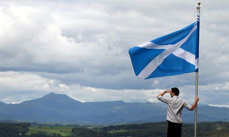 Scotland the Brave...Hark when the night is falling...