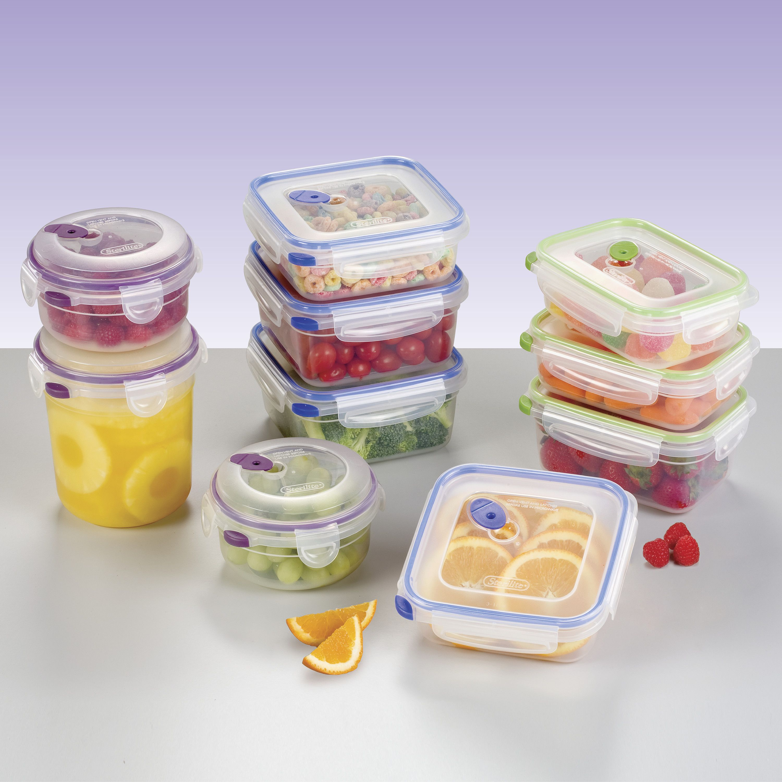 Walmart Food Storage Container Sets 20 Pc From Just 12