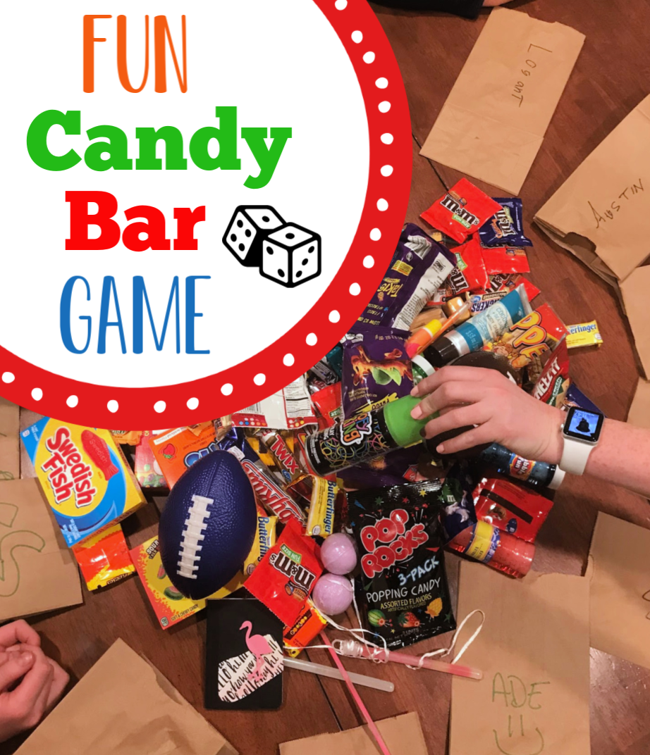 Fun Candy Bar Game Fun christmas party games, Candy