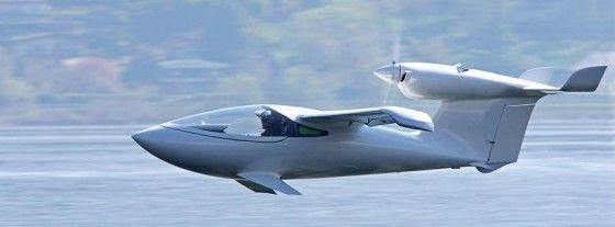 Cool looking AKOYA personal aircraft.