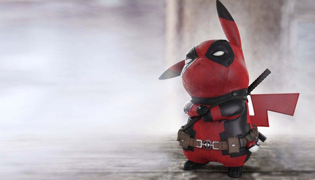 83750eb8 The rarest of them all! This #Deadpool #Pikachu mashup was created by  ZBrushCentral