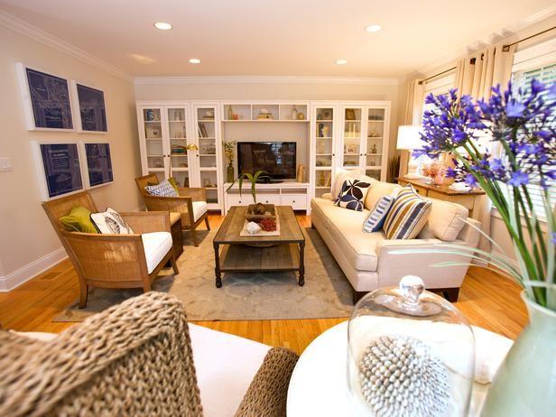 Cottage   Living Rooms   Sabrina Soto : Designer Portfolio : HGTV   Home U0026  Garden