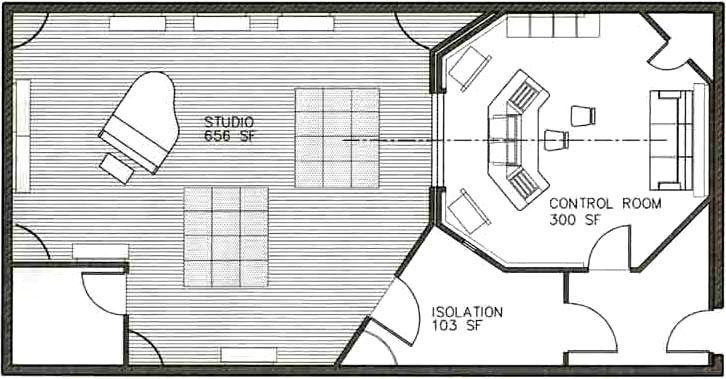 Small Recording Studio Design Ideas In 2020 Studio Floor Plans