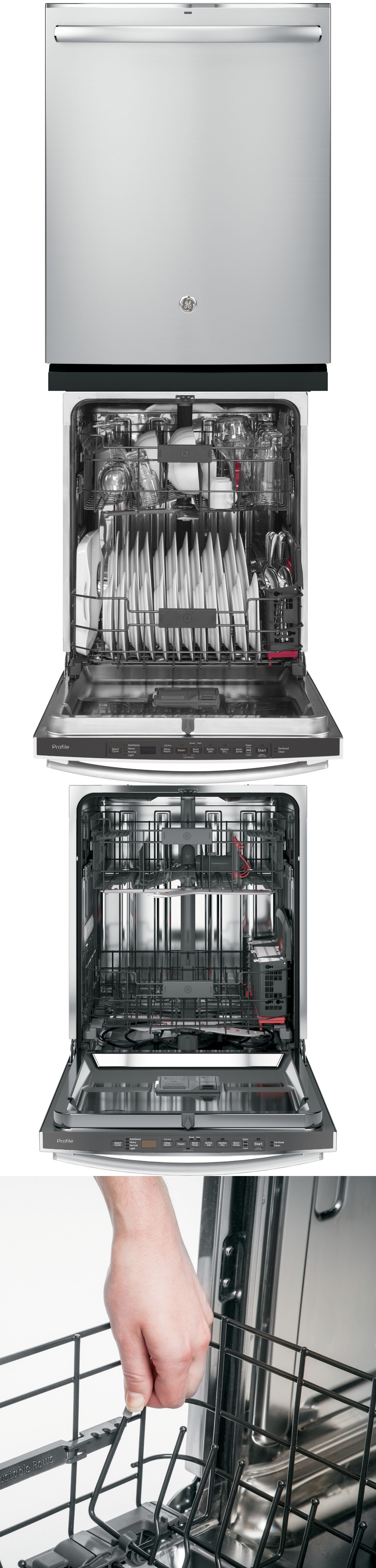 Dishwashers 116023 Ge Pdt825ssjss Profile Stainless Steel Interior Dishwasher With Hidden Controls Buy It Now On Built In Dishwasher Steel Stainless Steel
