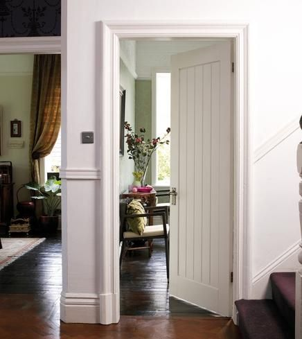 Howdens Joinery primed stile and rail doors are constructed using engineered timber stile and rail with MDF facings and dowelled joints. & white plank interior doors   Interiors   Doors \u0026 Windows ... Pezcame.Com