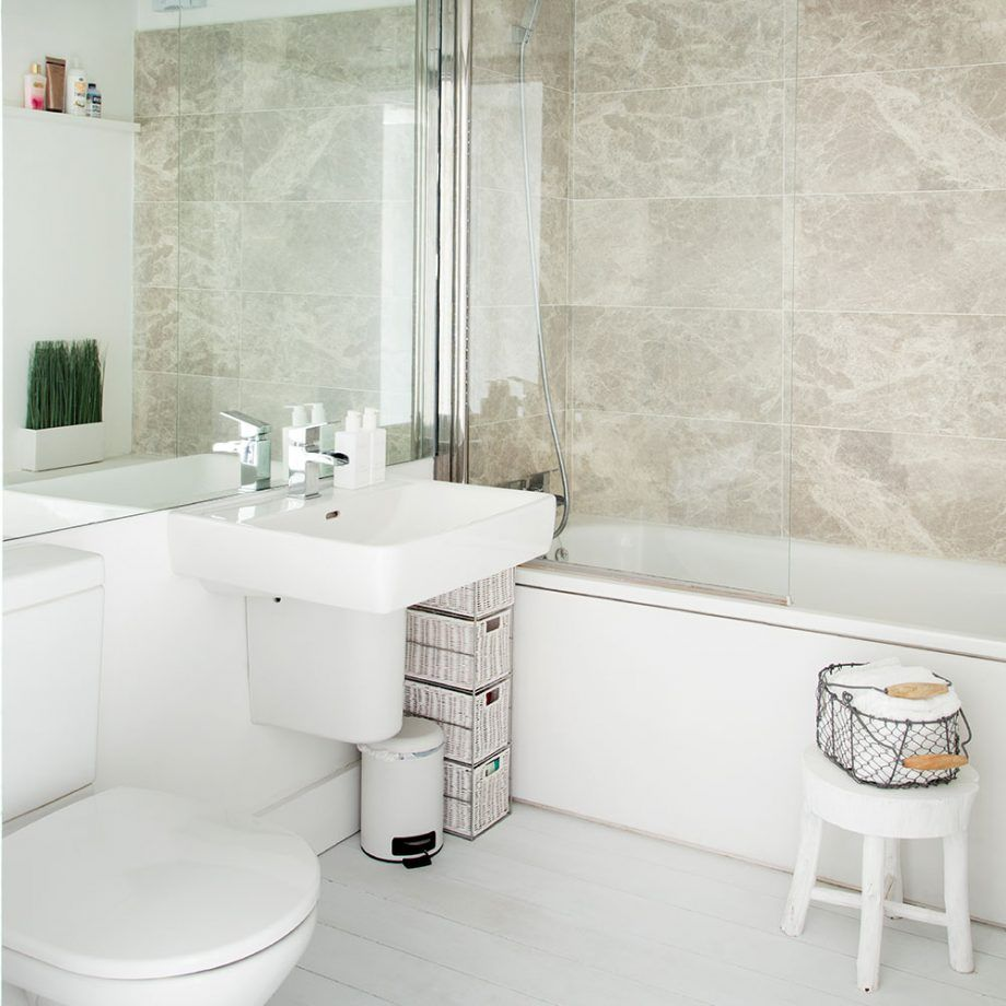Wander Around This Allwhite Factory Apartment In Norwich Pleasing Bathroom Design Norwich Decorating Design