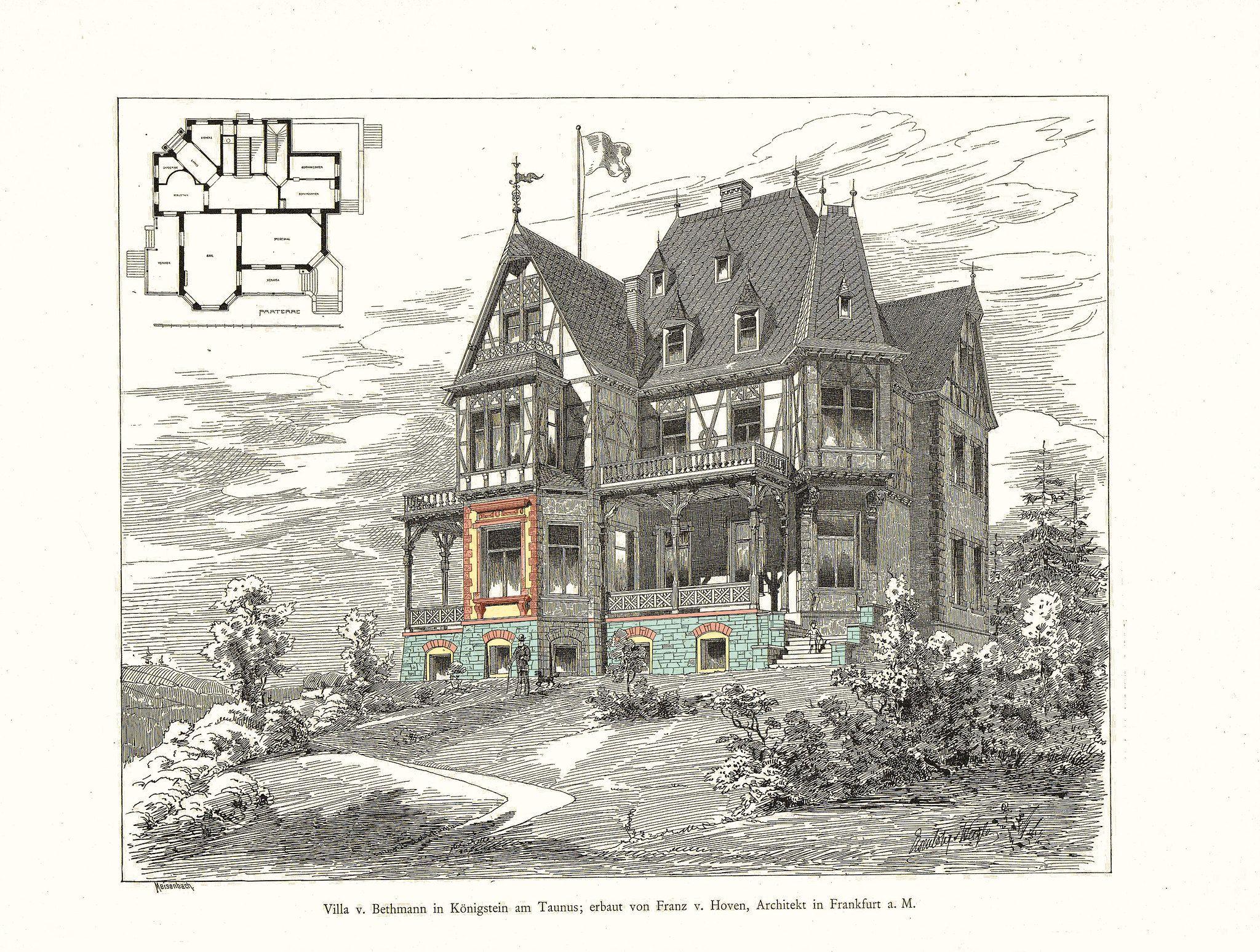Villa Bethmann In Konigstein Taunus 1885 Mit Bildern