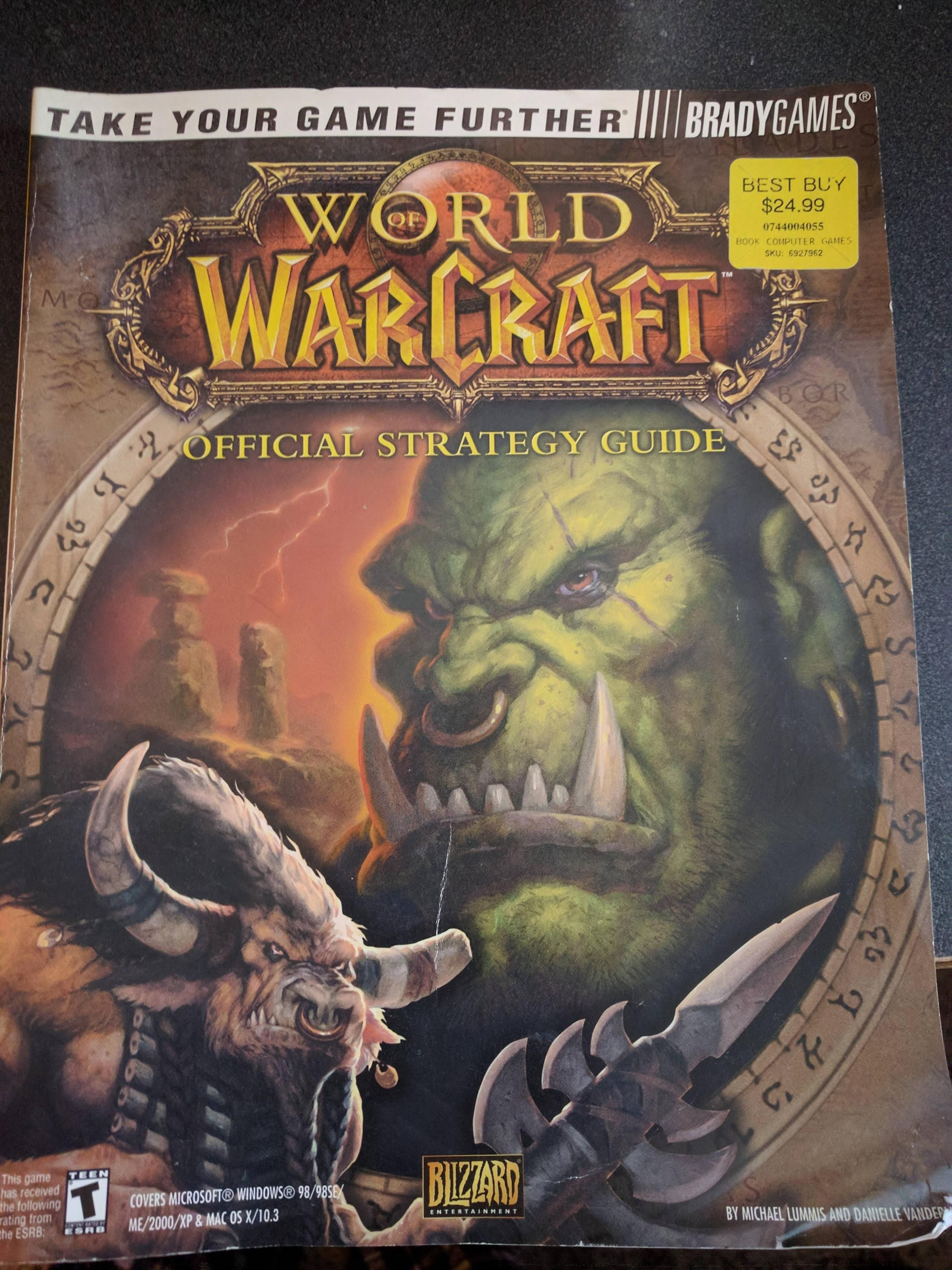 While Doing Some Fall Cleaning Last Week Havent Seen It Since TBC Came Out Worldofwarcraft Blizzard Hearthstone Wow Warcraft BlizzardCS Gaming