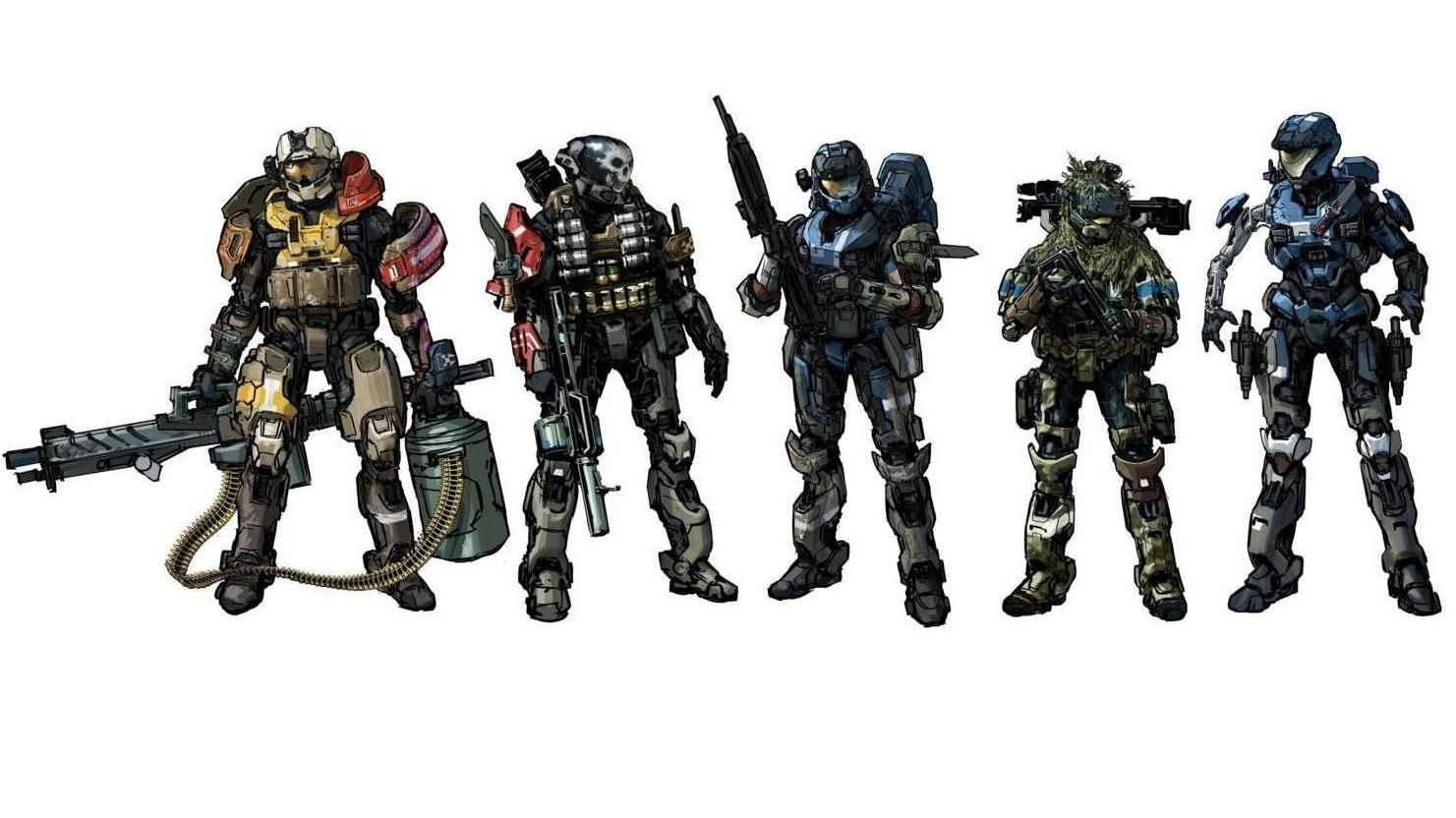 HALO character concept design | character design ...
