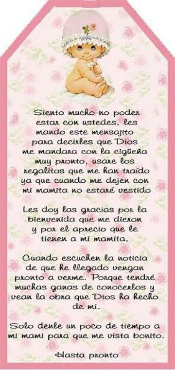 frases para un baby shower mensajes baby shower pinterest babies