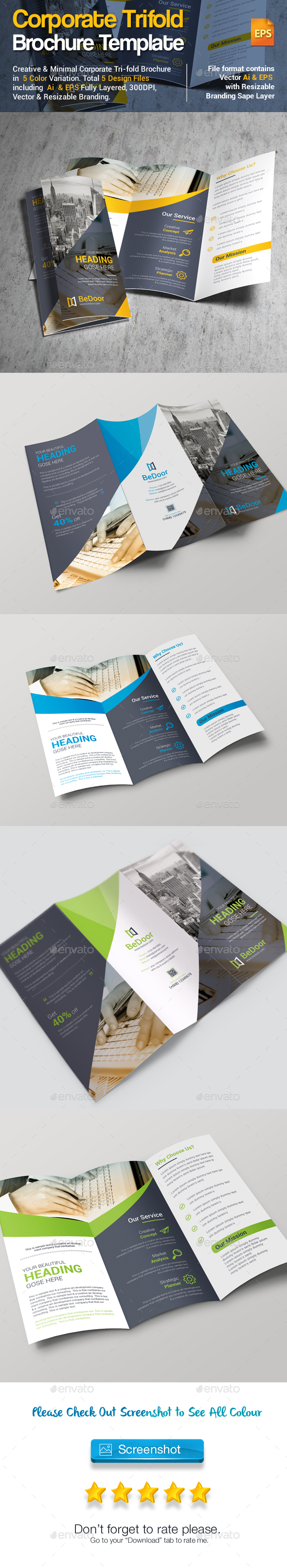 tri fold brochure template illustrator akba greenw co