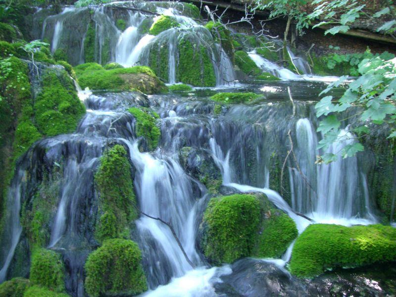 Divagar sobre tudo um pouco: Paraísos na Terra - Parque Nacional Plitvice - Croácia