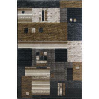Christopher Knight Home Mystique Harper Black Area Rug (7'11 x 10'10)