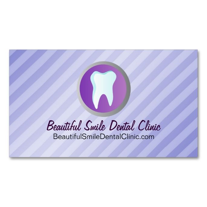 Dental Appointment Cards Template Double-Sided Standard Business ...
