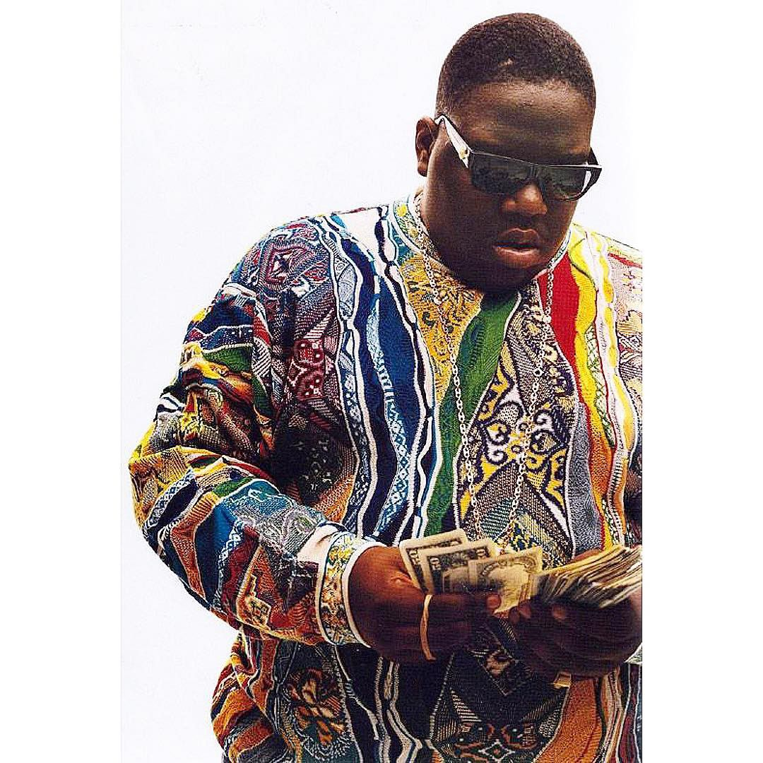 Notorious B.I.G. Cashmere Sweater Poster 24 x 36 in 2020