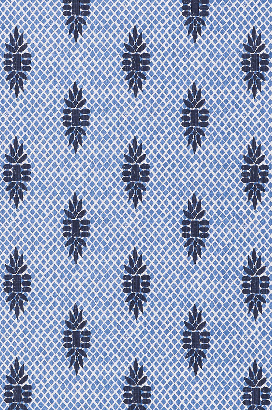 lacefield boca wedgewood blue block print designer fabric by the lacefield boca wedgewood blue block print designer fabric by the yard perfect for drapery or