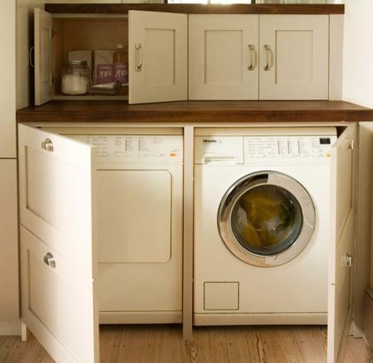 Washing Machine In Kitchen Design: Laundry Room, Laundry Room