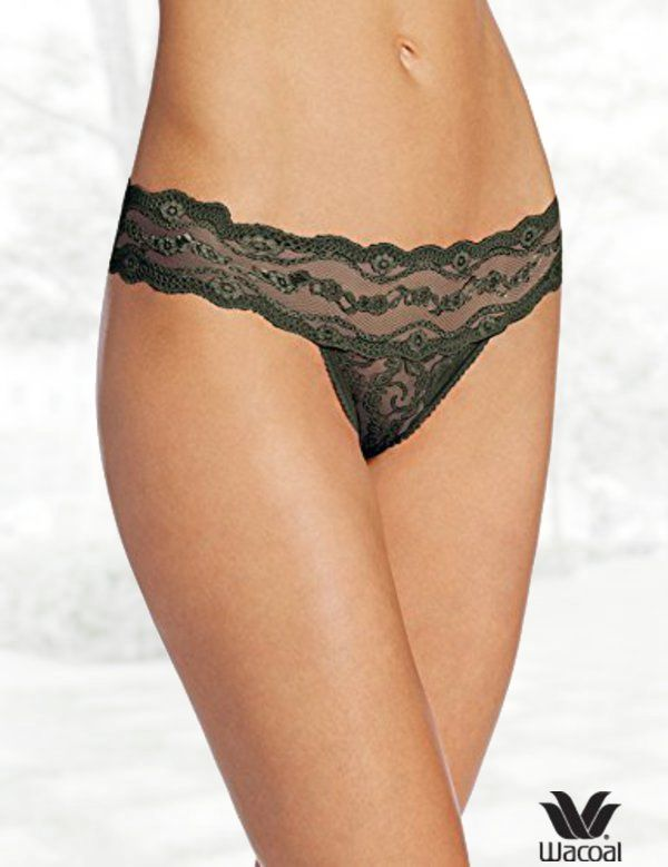 a61ad39bb096 b.tempt'd by Wacoal Women's Lace Kiss Thong Panty | Lingerie | Lace ...
