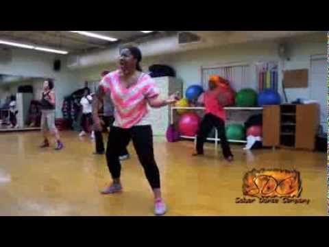 Happy Zumba Dance Very Easy I Love This Song And The Little