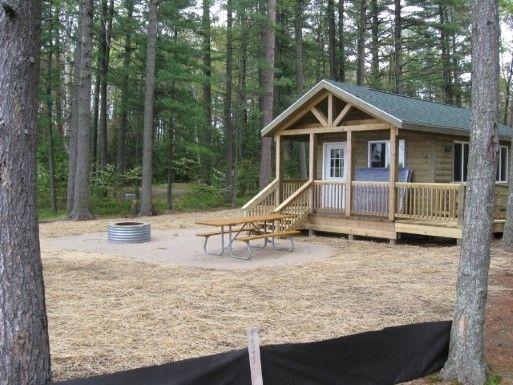 Tahquamenon Falls, Site: Pines Camper Cabin, Image:2 | Camping