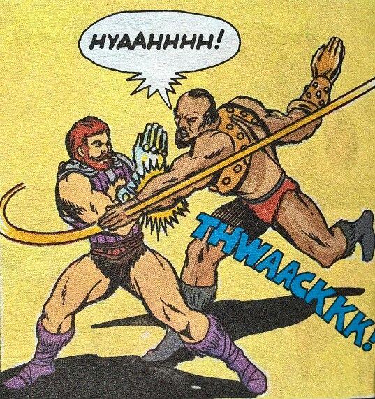 Fisto vs Jitsu