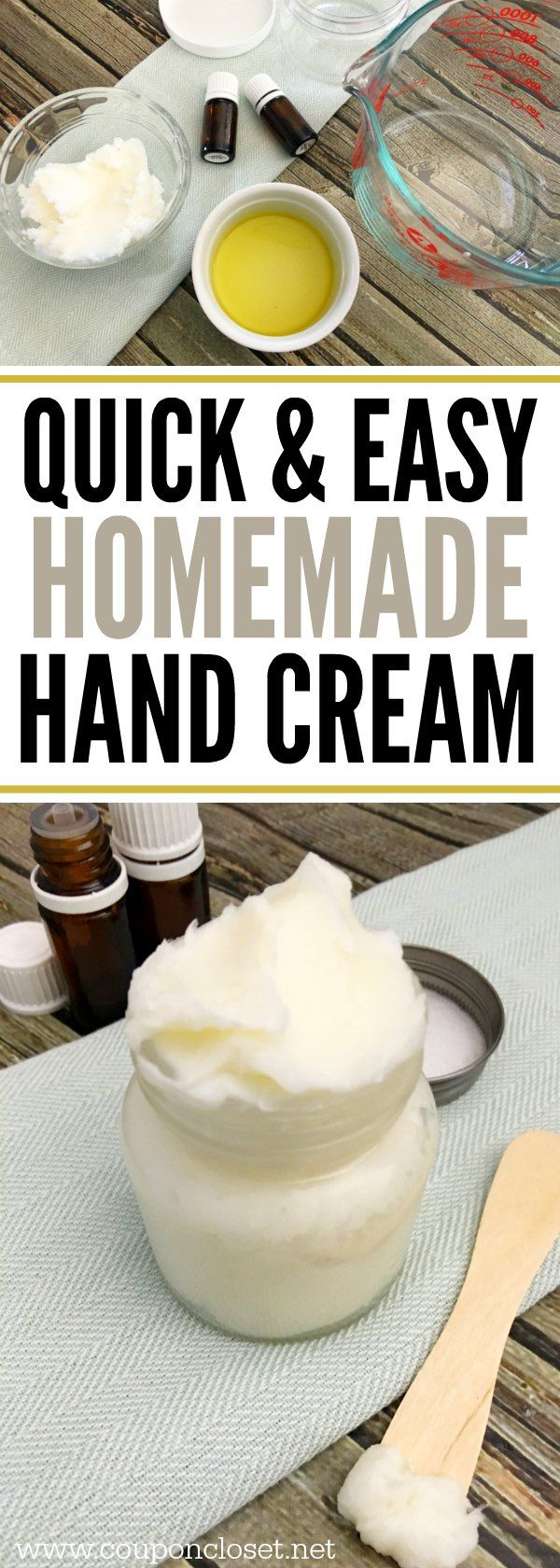 Homemade Hand Cream Quick And Easy Diy Hand Cream Hand Cream Homemade Diy Hand Cream Hand Cream