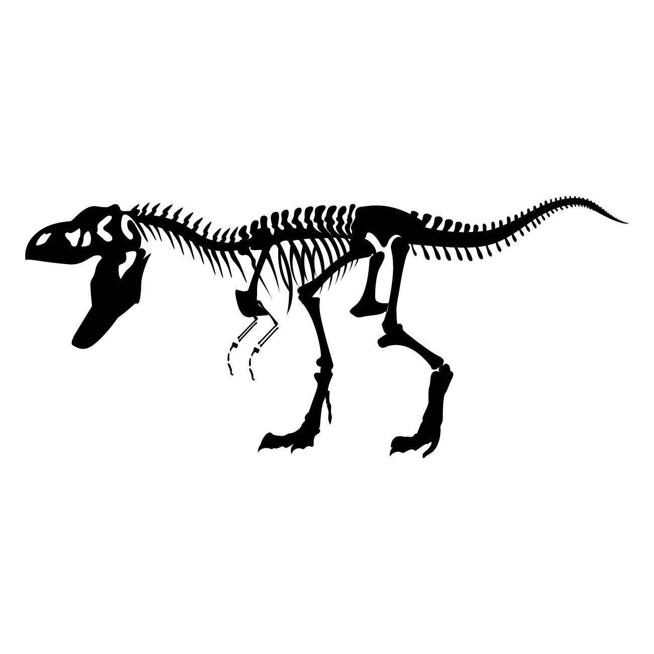 Details About Tyrannosaurus T Rex Dinosaur Skeleton Wall