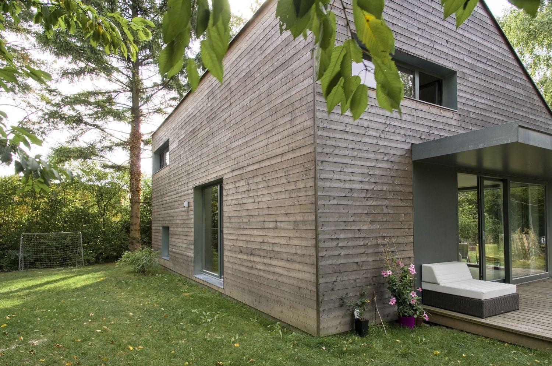 Fertigstellung: 2009 Ort: Leobendorf, NÖ Bebaute Fläche: 70 M² Keller: U2013  Auf Einem Besonders Schönen Grundstück Parkähnlich Mit Naturschwimmteich,  ...