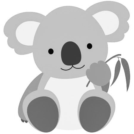pin by linda gonzalez on creative pinterest babies cricut rh pinterest co uk koala brothers clip art koala clipart black and white