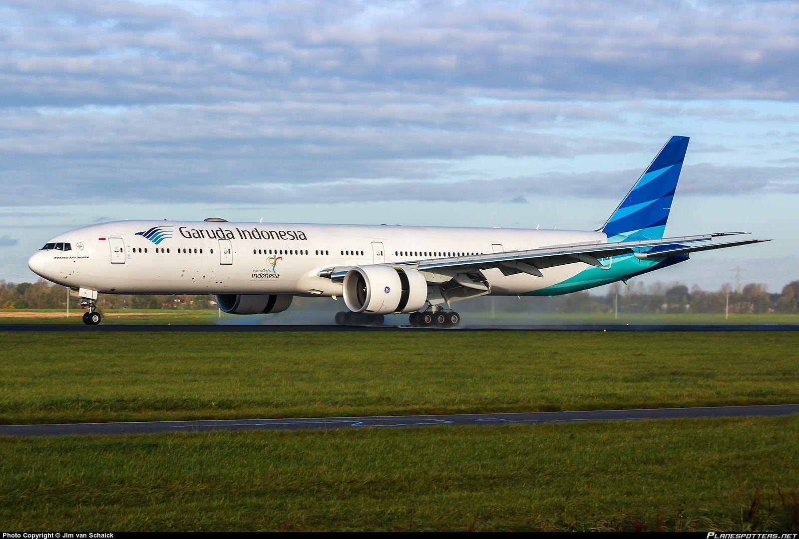 PKGIC Garuda Indonesia Boeing 7773U3(ER); Garuda is