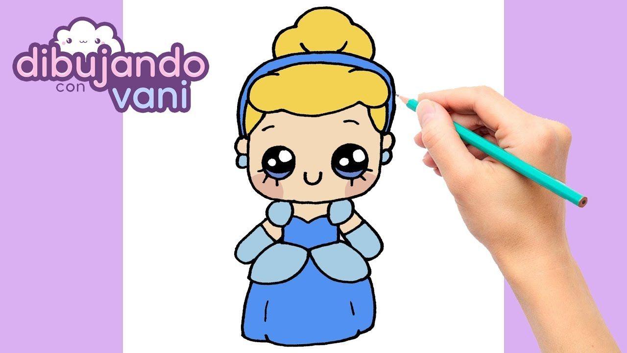 Como Dibujar A Cenicienta Paso A Paso Dibujos Para Dibujar