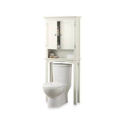 Buy Fairmont Cream Space Saver Bathroom Cabinet From Bed Bath Beyond Space Savers Bath Furniture Bathroom Space Saver