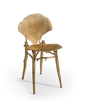 bronze Ginlo chair by CLAUDE LALANNE (b. 1924)