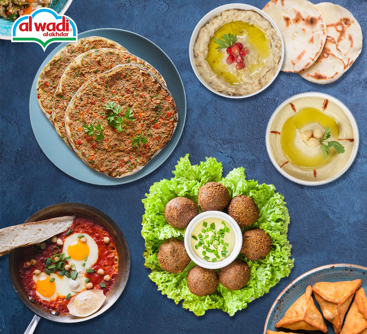 Al Wadi Al Akhdar!  The delicious Lebanese flavor you long for, the taste of home away from home!
