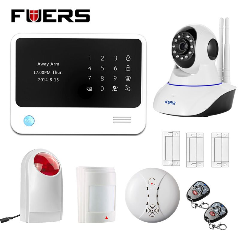 Unique Reliable WiFi GSM Alarm System Home Security Alarm wireless wired zone Motion Sensor with Outdoor Waterproof Luxury - Model Of outdoor motion sensor alarm Minimalist