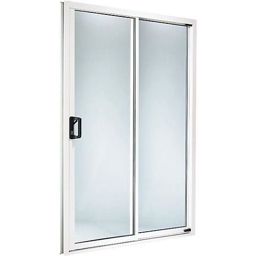 Wickes washington pvcu patio door set 6ft wide reversible for Wide sliding patio doors