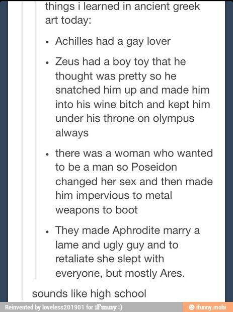 Gay greek mythology sex stories