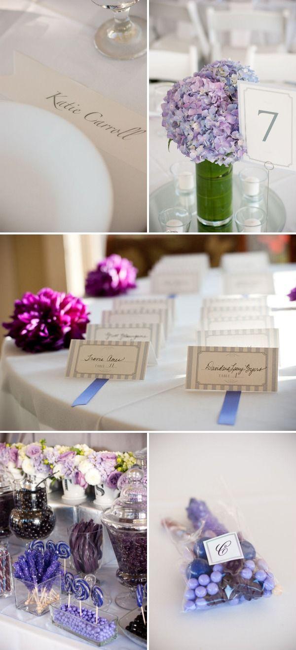 Washington Wedding by Sea Studio Photography | Purple hydrangea ...