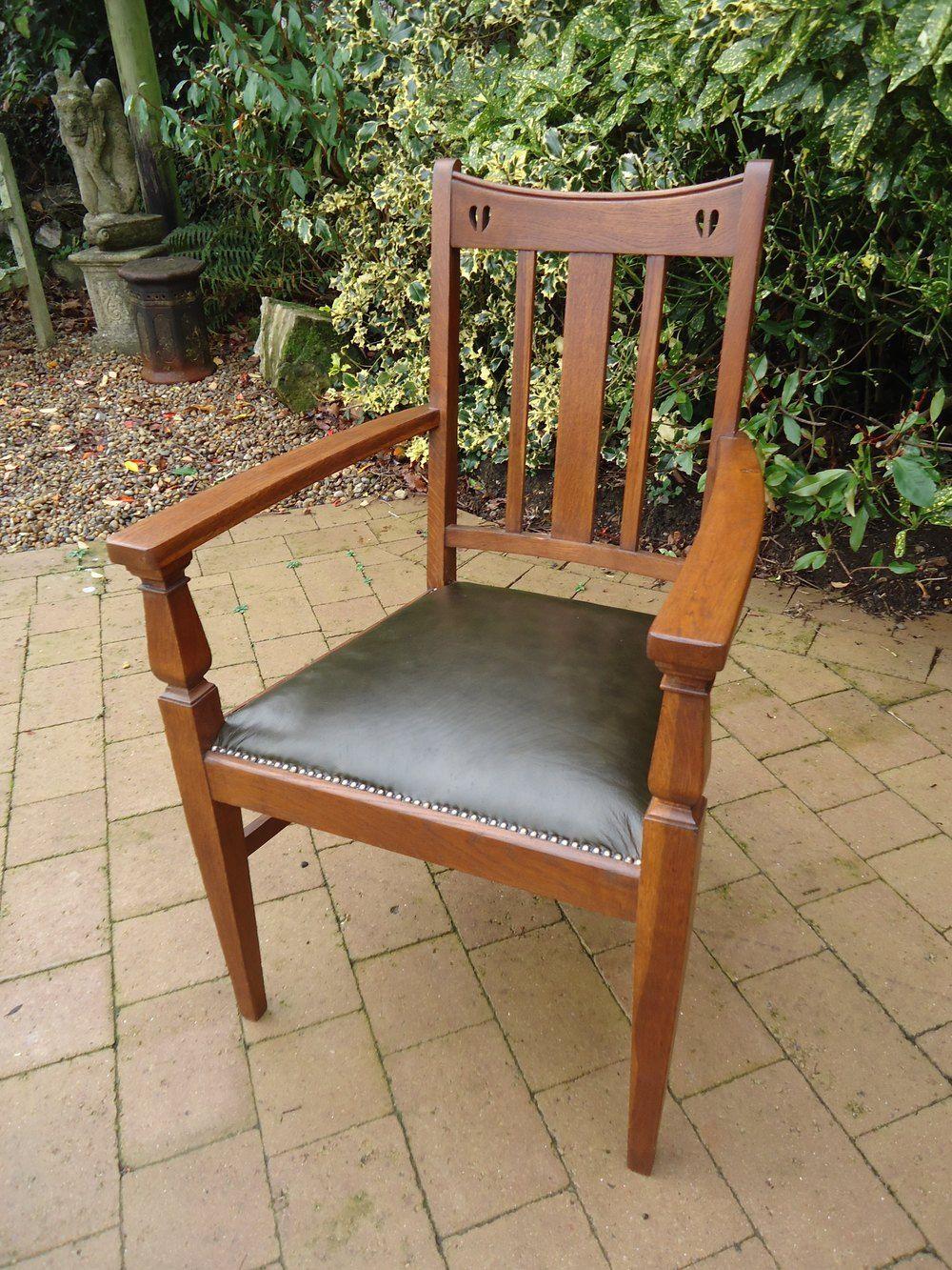 Arts Crafts Oak Chair E A Taylor Antiques Atlas Myagkaya