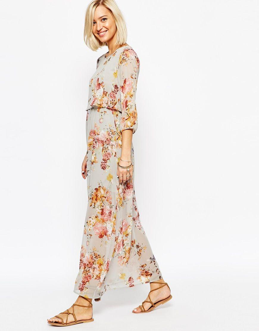 fedc72c4c29 Image 4 of Vero Moda Floral Boho Maxi Dress