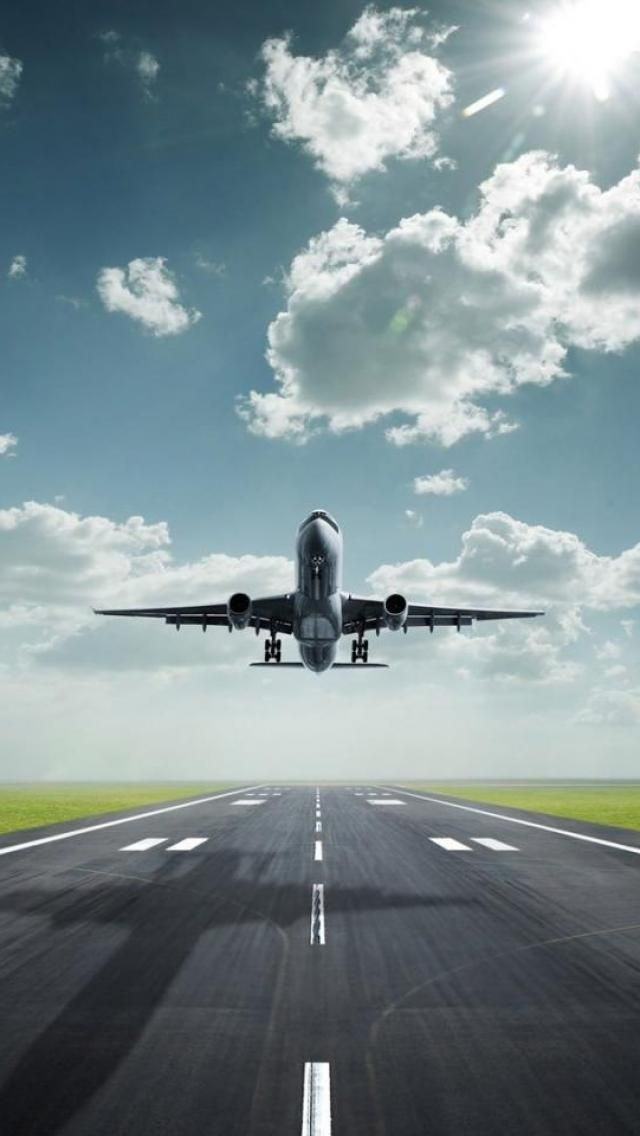 Aircraft Take Off Road Fear Of Flying Airplane Wallpaper