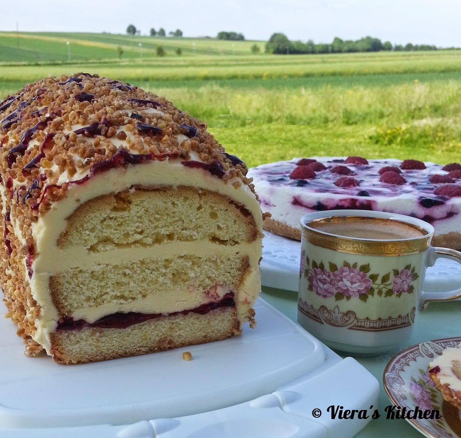 Frankfurter Kastenkuchen mit Lemon Curd Buttercreme